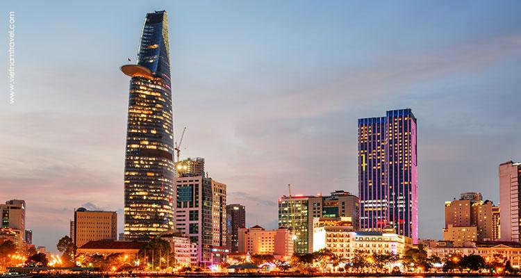 skyscraper in Ho Chi Minh city